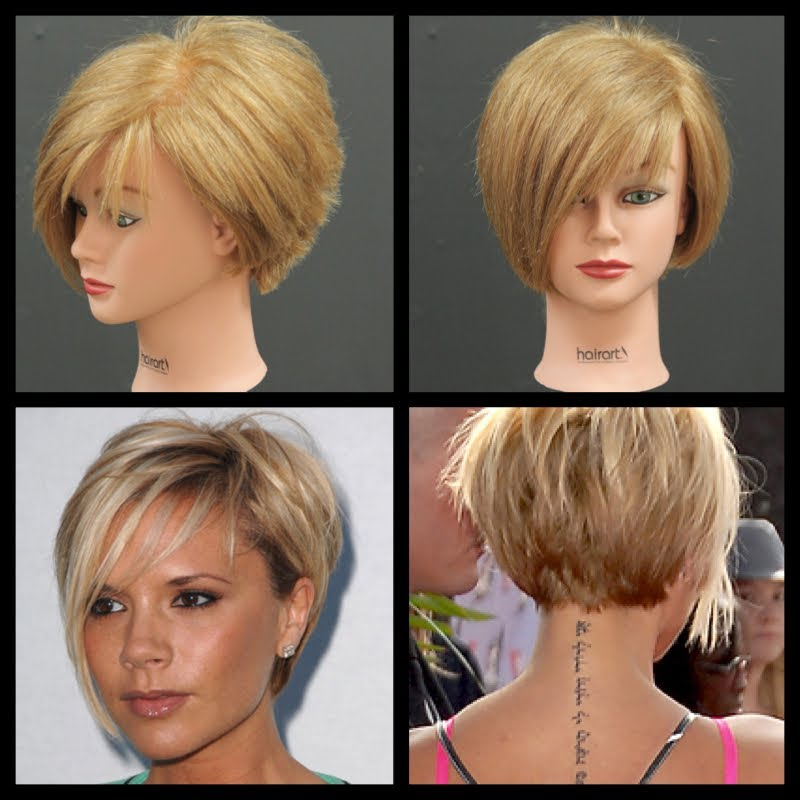 Victoria Beckham Inspired Haircut Tutorial Thesalonguy