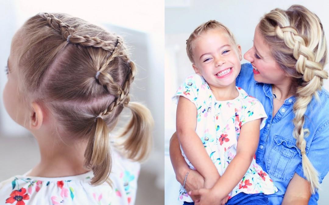 Pleasant Criss Cross Braid Back To School Hairstyles Cute Girls Short Hairstyles Gunalazisus