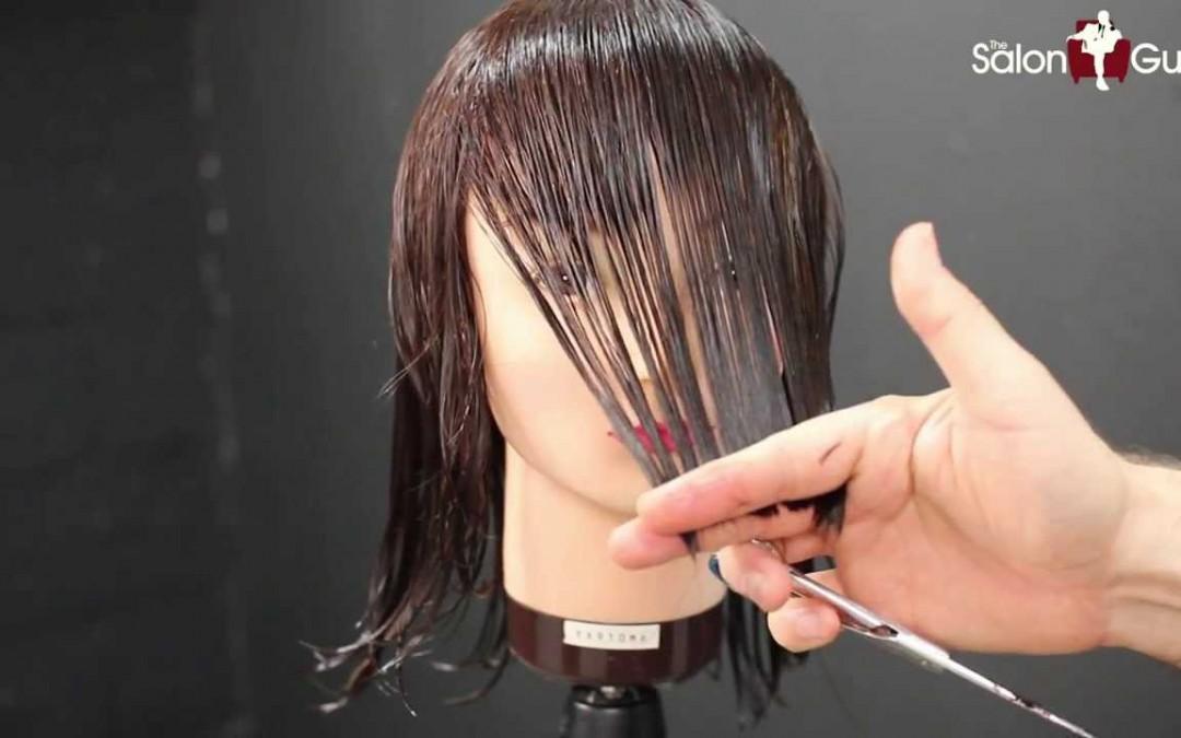 Haircut Tutorial Medium Length Layers E Hairdressing
