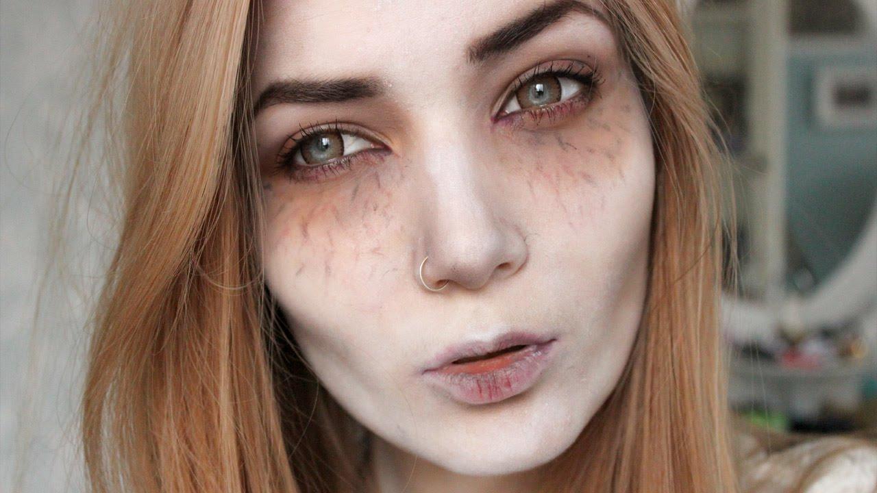 Victorian vampire halloween makeup tutorial e hairdressing baditri Gallery