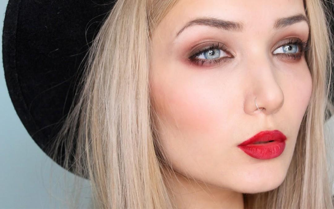 Vampy Grunge  Fall / Autumn Makeup Tutorial