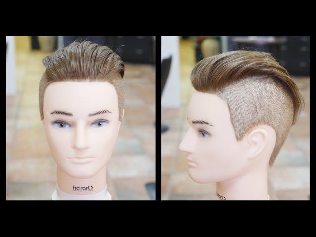 Men S Undercut Haircut Step By Step Tutorial Thesalonguy E