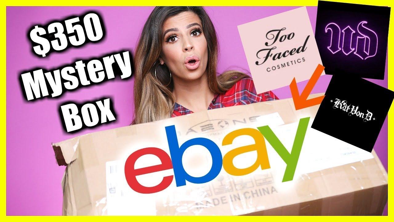 I Bought A 350 Ebay Beauty Mystery Box E Hairdressing