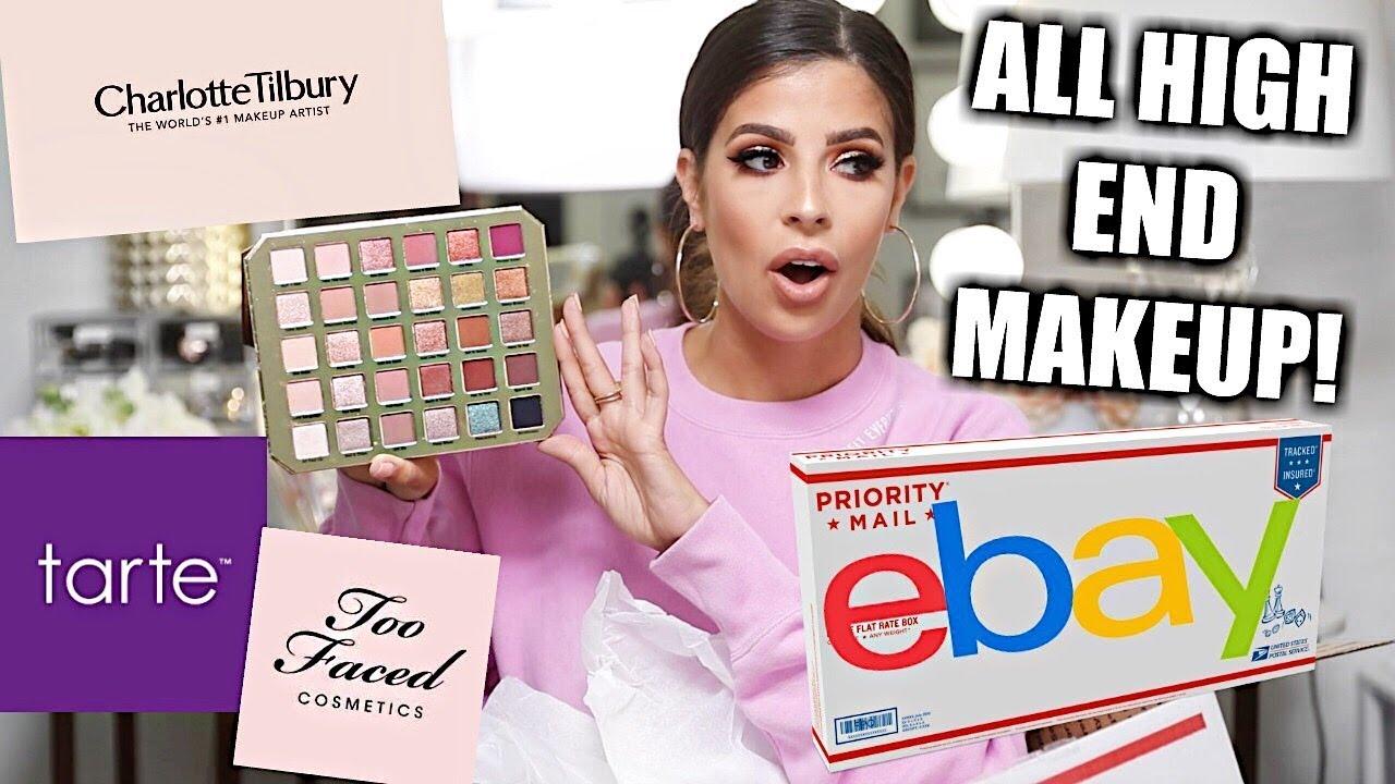 $200 EBAY MYSTERY BOX ...ALL HIGH END MAKEUP Omg...